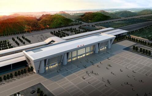 贵州省毕节市梨树高铁客运枢纽中心
